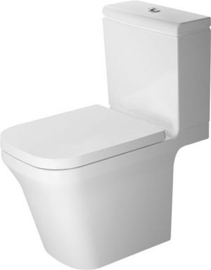 Duravit - P3 Comforts Toilet Close Coupled 650mm Horizontal Outlet - White
