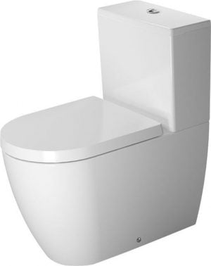 Duravit - ME By Starck Toilet Close Coupled 650mm - White