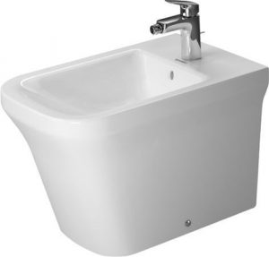 Duravit - P3 Comforts Bidet Floorstanding 600mm 1TH Back To Wall - White