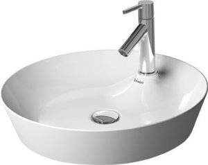 Duravit - Cape Cod Washbowl Round 480mm With Tap Dome 1TH - White