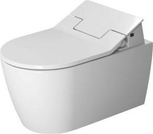 Duravit - ME By Starck Toilet Wall Mounted 570mm Washdown Durafix - White