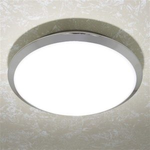 HiB - Marius Circular Ceiling Light 31 x 12cm - Chrome
