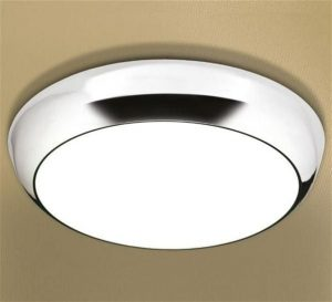 HiB - Kinetic LED Ceiling Light 33cm x D10cm - Chrome