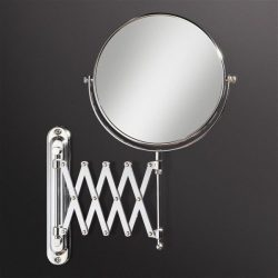 HiB - Rossi Circular Extendable Magnifying Mirror 20cm - Mirror