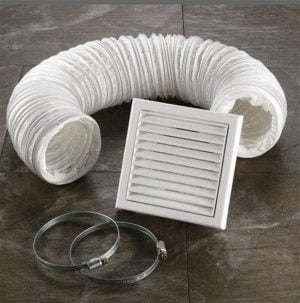 HiB - Ventilation Accessory Kit - White