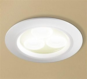 HiB - LED Showerlight 7.7cm x 0.5cm - White/Cool White