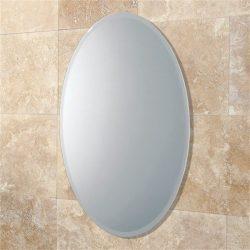 HiB - Alfera Oval Mirror 54 x 42cm - Mirror