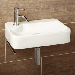 HiB - Lugo Washbasin 44 x 10 x 30cm - White