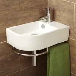 HiB - Temoli Washbasin 41 x 12.5 x 26.5cm - White