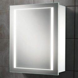 HiB - Austin Single Door Cabinet 50 x 63 x 14.5cm - White Gloss