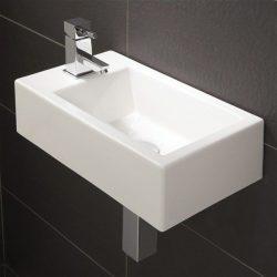 HiB - Metro Washbasin 44 x 13 x 25cm - White