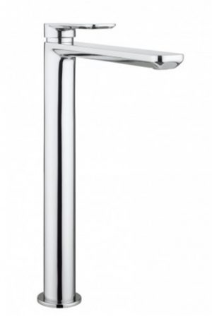 Crosswater - Pier Tall Basin Monobloc Mixer without Waste - Chrome