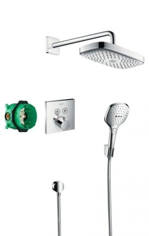 Hansgrohe - Design Raindance Select E & ShowerSelect E Concealed Shower Pack