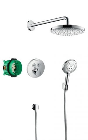 Hansgrohe - Design Raindance Select S & ShowerSelect S Concealed Shower Pack