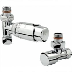 Zehnder - Chromax Thermostatic Mixed Valve Set - Chrome