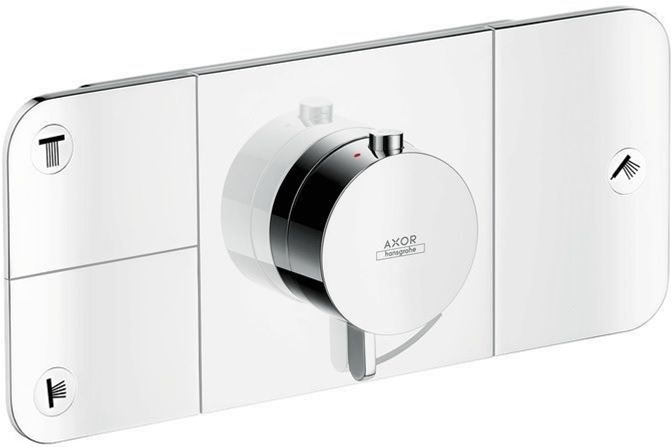 Axor Hansgrohe - One Thermostatic Module for Concealed Installation 3 Outlets - Chrome