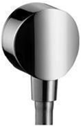 Hansgrohe - Fixfit S Wall Mounted Wall Outlet Metal - Chrome