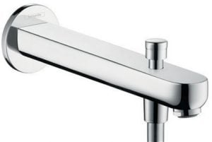 Hansgrohe - Metris S Tub Spout 228mm With Diverter