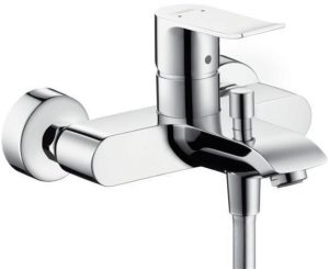 Hansgrohe - Metris Single Lever Bath and Shower Mixer Wall Mounted