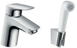 Hansgrohe - Logis Bidette 1 Jet Hand Shower/Single Lever Basin Mixer