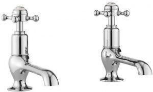 Crosswater - Belgravia Crosshead Long Nose Basin Taps - Chrome