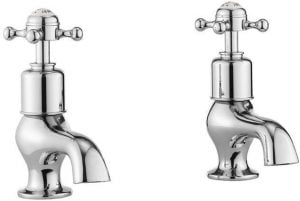 Crosswater - Belgravia Crosshead Bath Taps - Chrome
