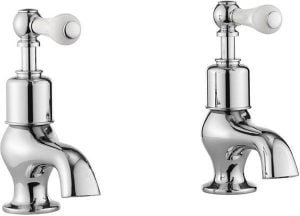 Crosswater - Belgravia Lever Bath Taps - Chrome