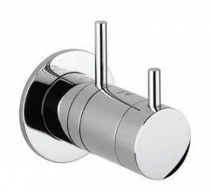 Crosswater - Kai Lever Mini Concealed Thermostatic Shower Valve - Chrome