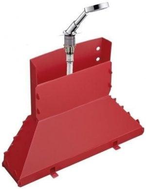 Axor Hansgrohe - Secuflex Bath Rim Set With Raindance S 100 Hand Shower - Chrome