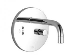 eMote Wall Mounted Infrafred Electronic Basin Mixer