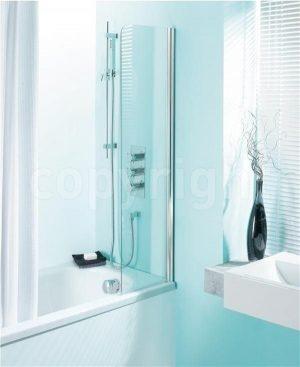 Crosswater - Supreme Bath Guard - Silver