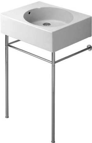 Duravit - Scola Metal Console For Washbasin - Chrome