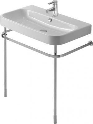 Duravit - Happy D.2 Metal Console For Washbasin Height Adj - Chrome