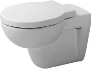 Duravit - Foster Toilet Wall-Mounted Washdown - White