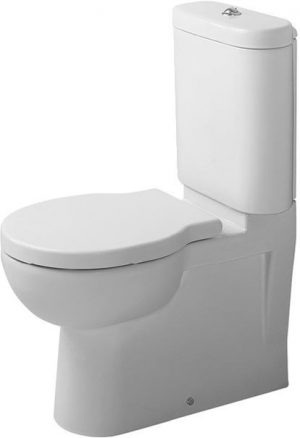 Duravit - Foster Toilet Close Coupled Vario Outlet Washdown - White