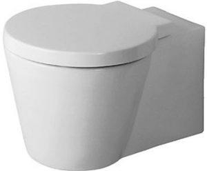 Duravit - Starck 1 Toilet Wall-Mounted Washdown - White