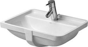 Duravit - Starck 3 Vanity Basin 490mm Undercounter Model - White