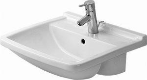 Duravit - Starck 3 Semi-Recessed Washbasin 550mm - White