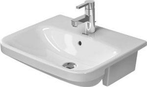 Duravit - DuraStyle Semi-Recessed Washbasin 550mm 1TH - White