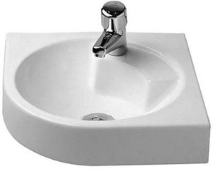 Duravit - Architec Washbasin 450mm Corner Model 1TH - White