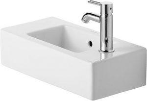 Duravit - Vero Handrinse Basin 500mm TH R/L Pre-Punched - White