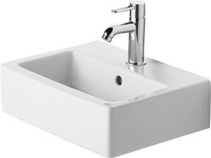 Duravit - Vero Handrinse Basin 450mm 1TH Ground - White