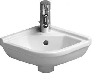 Duravit - Starck 3 Handrinse Basin 440mm Corner Model - White