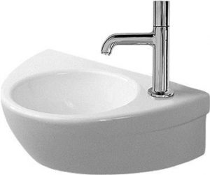Duravit - Starck 2 Handrinse Basin 380mm TH Pre-Punched - White