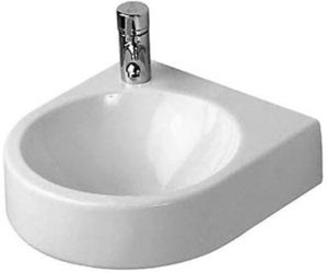 Duravit - Architec Handrinse Basin 350mm TH Pre-punched - White