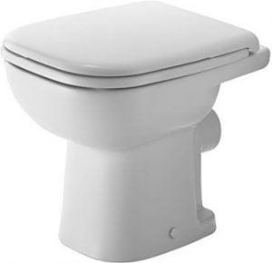 Duravit - D-Code Toilet Floorstanding 480mm Washdown - White