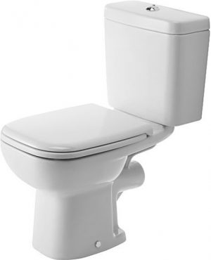 Duravit - D-Code Toilet Close-Coupled 650mm Washdown - White