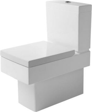 Duravit - Vero Toilet Close Coupled 630mm Vario Outlet Washdown - White