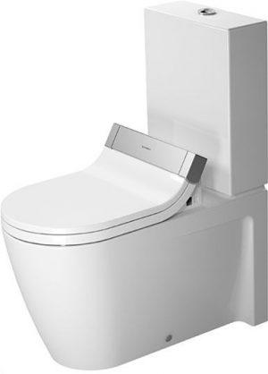 Duravit - Starck 2 Toilet Close-Coupled 720mm Vario Outlet Washdown - White
