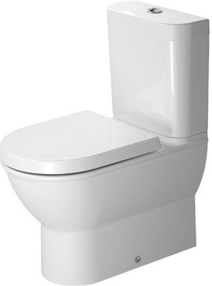 Duravit - Darling New Toilet Close-Coupled 630mm Washdown - White